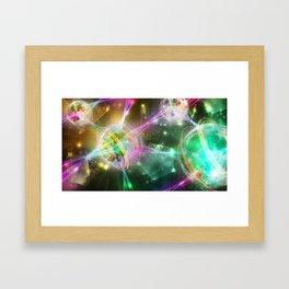 Magic Connection Framed Art Print