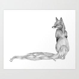 The Fox and The Hair Art Print