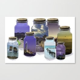 Bottled World Canvas Print
