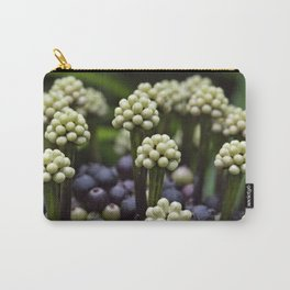 Green Aralia Flowers Carry-All Pouch