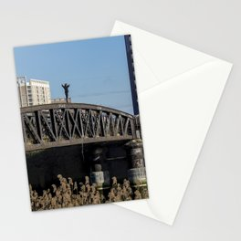 On top of the bridge Stationery Cards