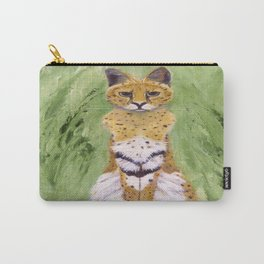 Serval Cat Carry-All Pouch