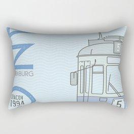 Trams of the World - Cracov Rectangular Pillow