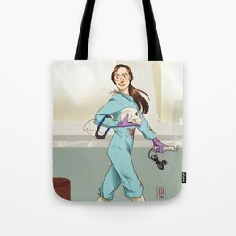 Another day's work Tote Bag