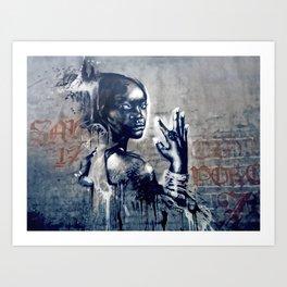 Ale Bonjo / Sámara-Uganda Orphans Collaboration Art Print