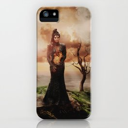 Fiery Queen iPhone Case