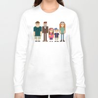 gravity falls Long Sleeve T-shirts featuring Gravity Falls 8-bit by Evelyn Gonzalez