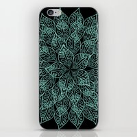 emerald iPhone & iPod Skins featuring emerald by Sproot