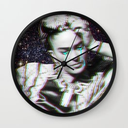Frida in Space Wall Clock