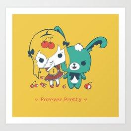 Forever Pretty Art Print