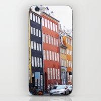 copenhagen iPhone & iPod Skins featuring Copenhagen by Anya Kubilus