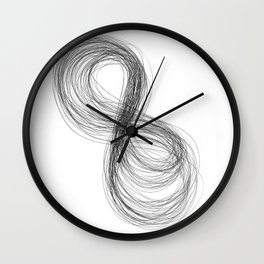 Infinity's Angel  Wall Clock