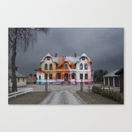 Haunted by colour Canvas Print