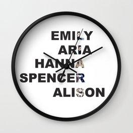 Pretty Little Liars - Girls Name Acrostic Wall Clock