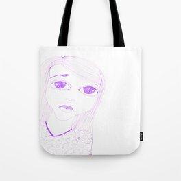 purple sadness1 Tote Bag