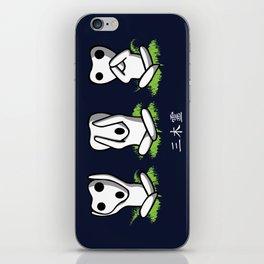 Three Kodama iPhone Skin