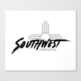 Southwest Creative Company Black Canvas Print