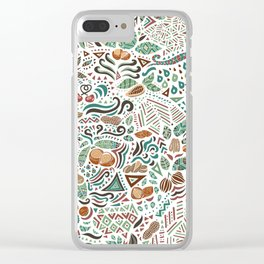 Nuts And Nature Clear iPhone Case