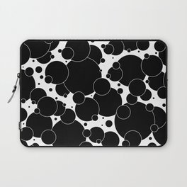 Black And White Pop 1 Laptop Sleeve