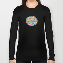 Christian Fearfully and Wonderfully Made Long Sleeve T-shirt