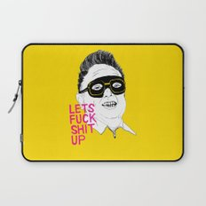 F*ck Sh*t Up Laptop Sleeve