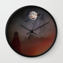 All Hallows Eve Wall Clock