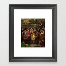 Grida Di Pizarro Nella Riunione Di Famiglia Isabella Framed Art Print