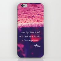 wonderland iPhone & iPod Skins featuring Wonderland by Josrick