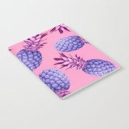Violet pineapples Notebook