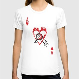 Sawdust Deck: The Ace of Hearts T-shirt
