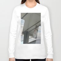copenhagen Long Sleeve T-shirts featuring Copenhagen Metro reflection by RMK Creative