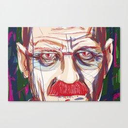 Breaking Walter // Breaking Bad Canvas Print