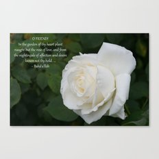 The Rose Of Love Canvas Print