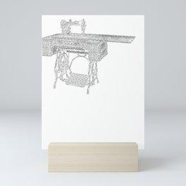 Sewing is a Seam Come True Mini Art Print
