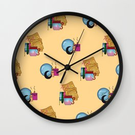 Poison Love Wall Clock