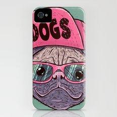 Dogs iPhone (4, 4s) Slim Case