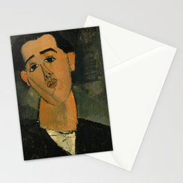 Amedeo Modigliani - Portrait of Juan Gris Stationery Cards