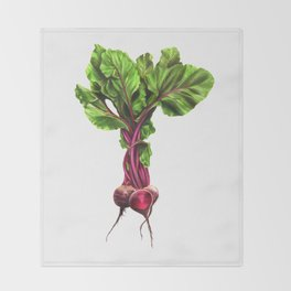 Beets Throw Blanket