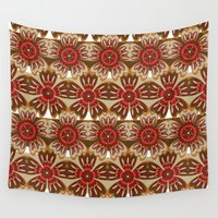 spice Wall Tapestries featuring Spice by Shelly Bremmer