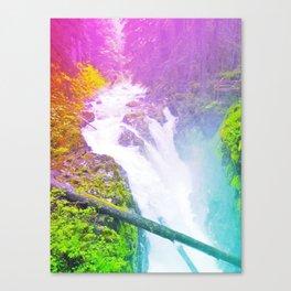 Wonderland Waterfall Canvas Print