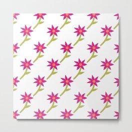 Paper in Bloom Metal Print