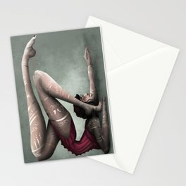 Contortions  Stationery Cards