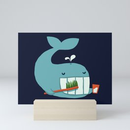 Brush Your Teeth Mini Art Print