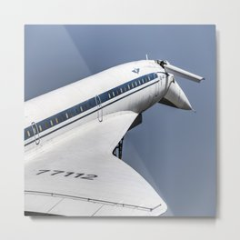 Tupolev TU-144 Jet Metal Print