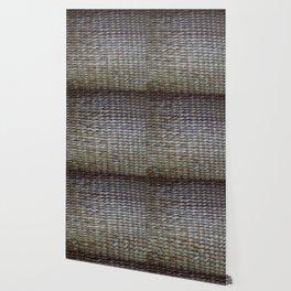 Earthy reeds woven Wallpaper