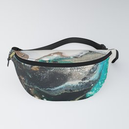 blue insect  Fanny Pack