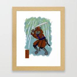 Neko Mata Framed Art Print