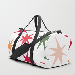 Colourful Sparkles - White Duffle Bag
