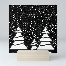 snowfall Mini Art Print