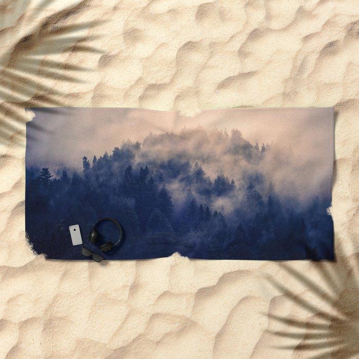 In the Pale Moonlight Beach Towel